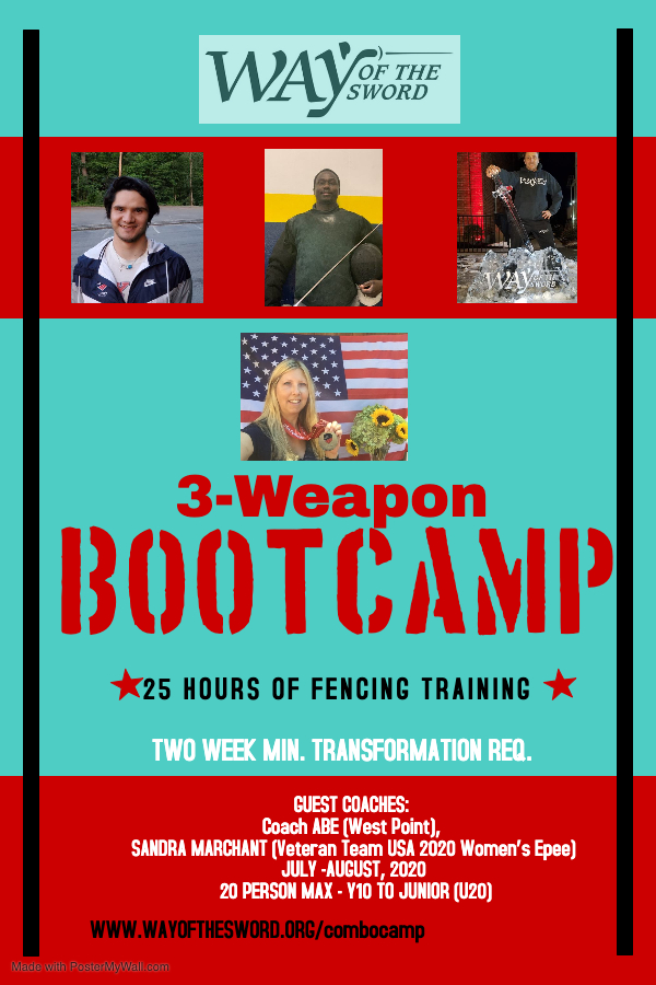 FENCING Bootcamp - Made with PosterMyWall
