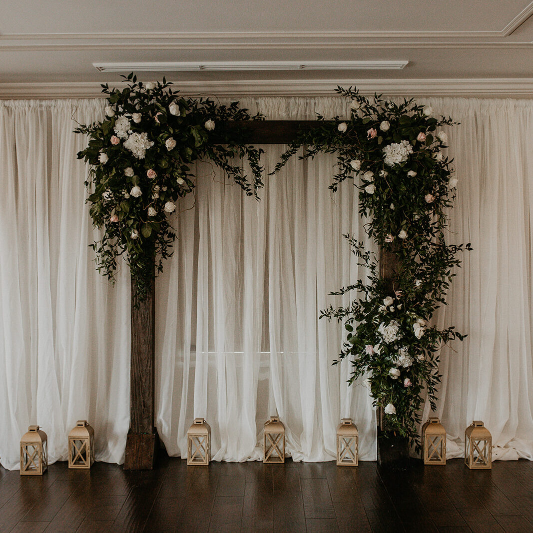Wedding Arch in the TreeHouse