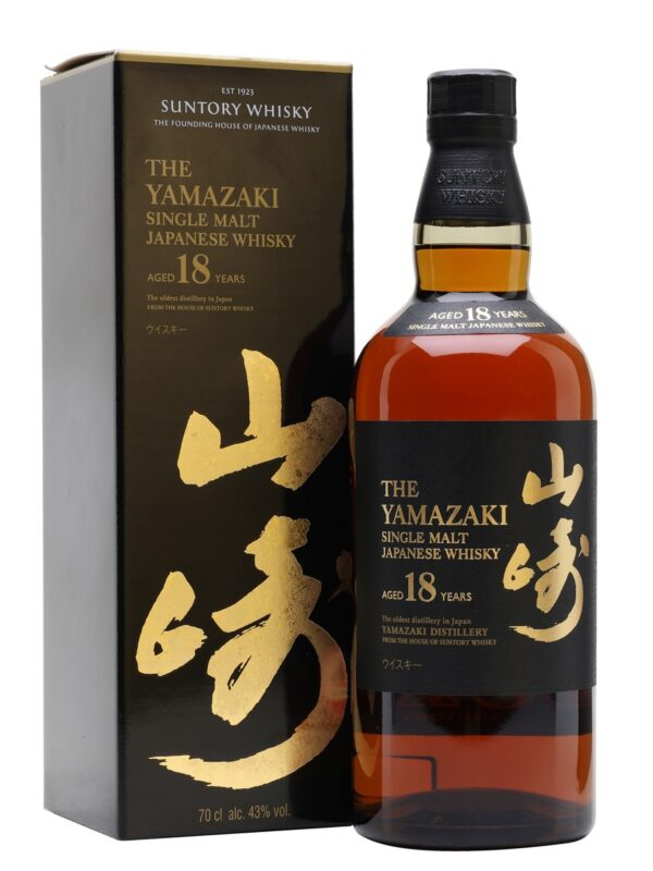 Suntory-Yamazaki 18Y Whisky 三得利-山崎 18年威士忌