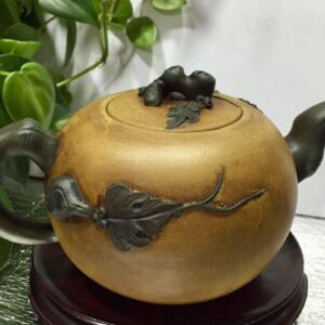 紫砂陶藝 名家 汪寅仙 大師 早期手工製舊壼