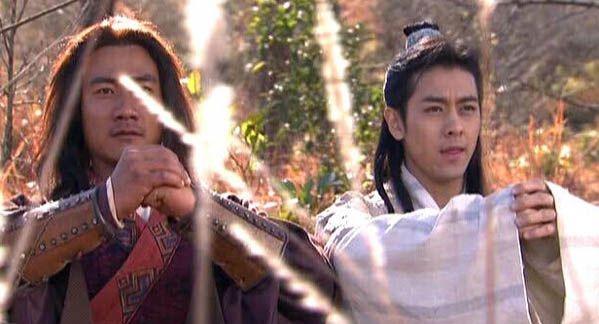 段譽和喬峰