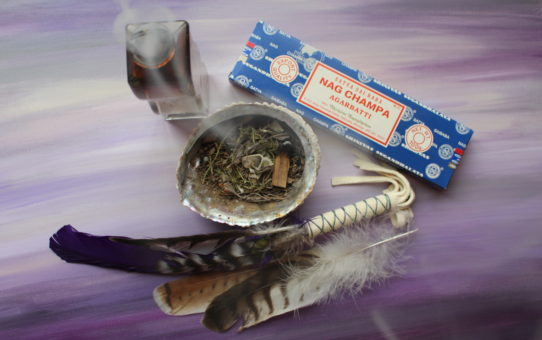 Smudging for Change and Growth