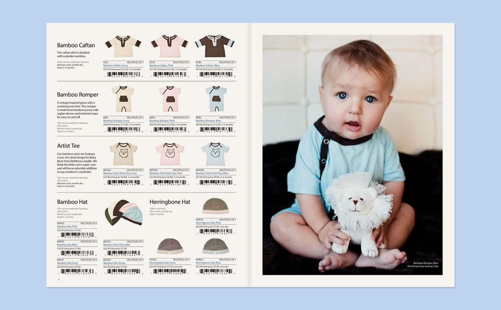 Beba Bean Catalogue Spread 2