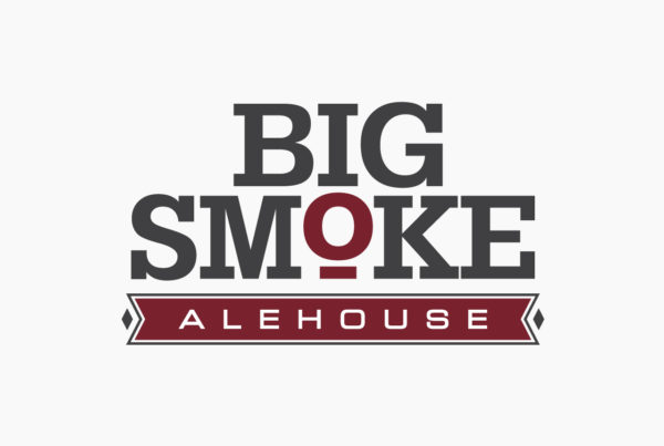 Big Smoke Alehouse Logo by HCD