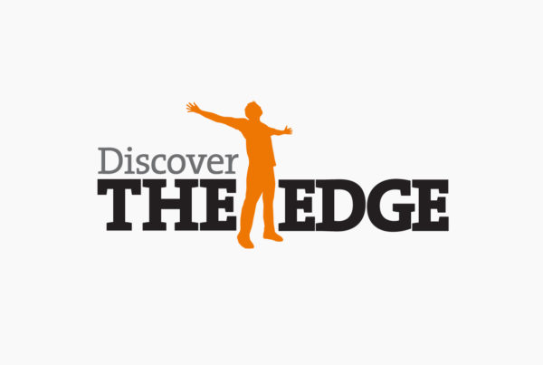 Discover The Edge Logo by HCD