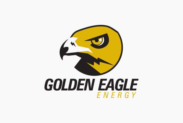 Golden Eagle Energy Logo by HCD