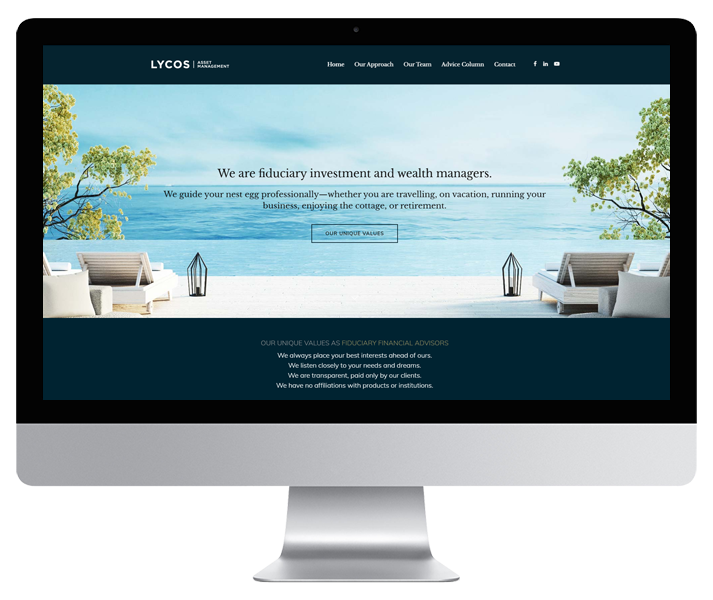 Lycos Asset Management Website by HCD