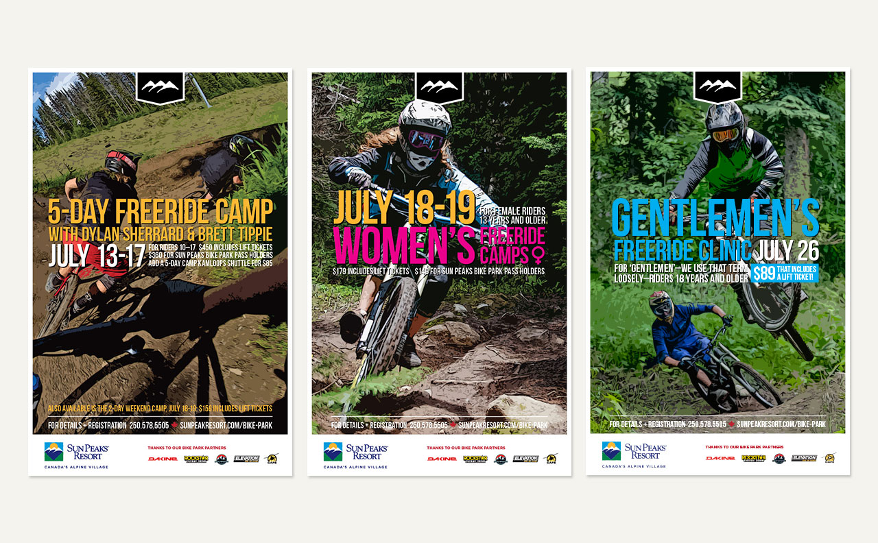 SPRC Bike Park Posters by HCD