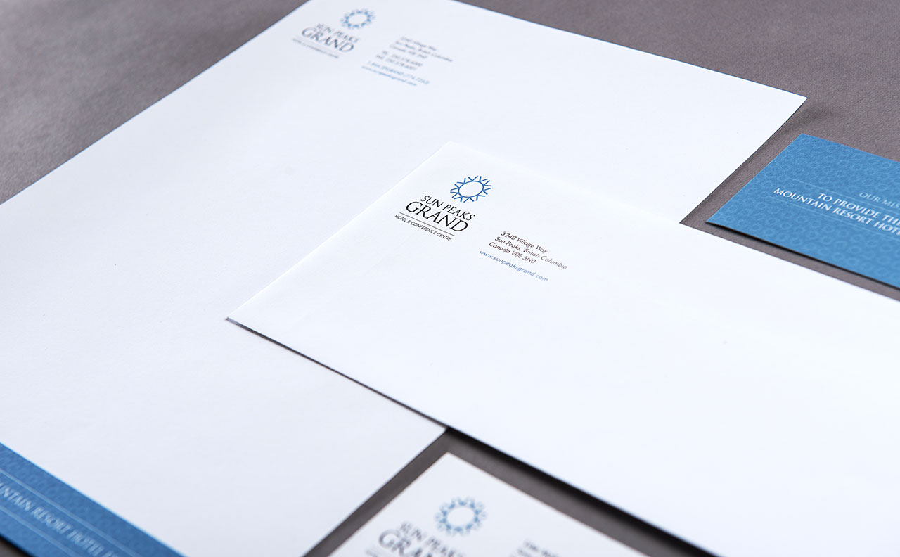 Sun Peaks Grand Stationery Package By HCD