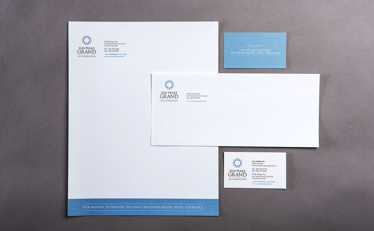 Sun Peaks Grand Stationery by HCD