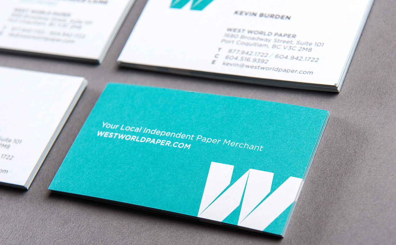 West World Paper Business Card 2 by HCD