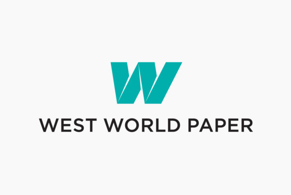 West World Paper Logo by HCD