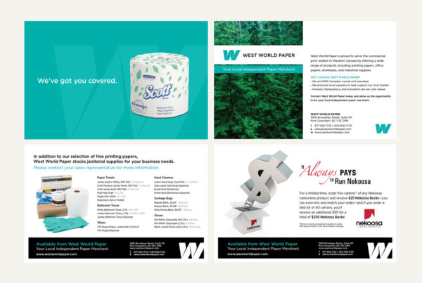 West World Paper Mailers by HCD