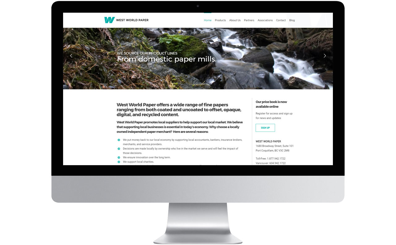 West World Paper Site by HCD