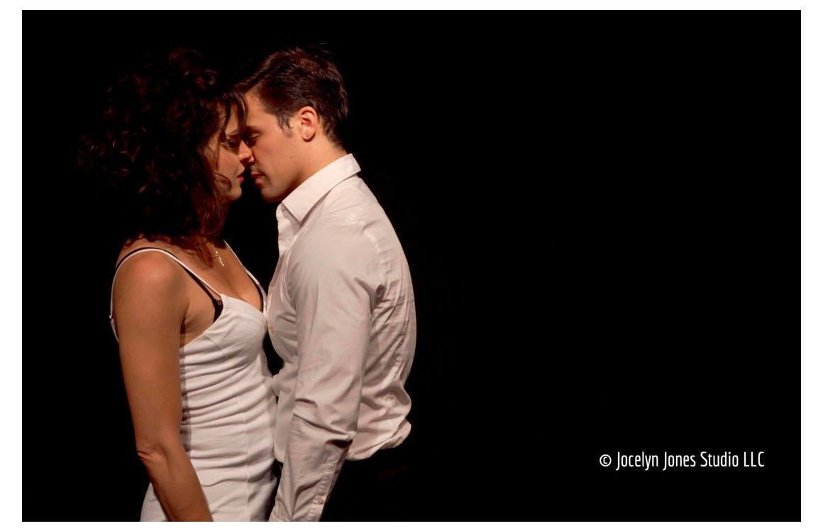 Lana Parrilla (From ABC's Once Upon a Time) and Joey Nisivoccia in a scene from Italian American Reconciliation