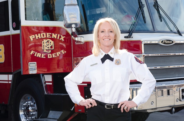 Recruiting Female Firefighters: Capt. Reda Bigler, Phoenix Ariz Fire Dept.