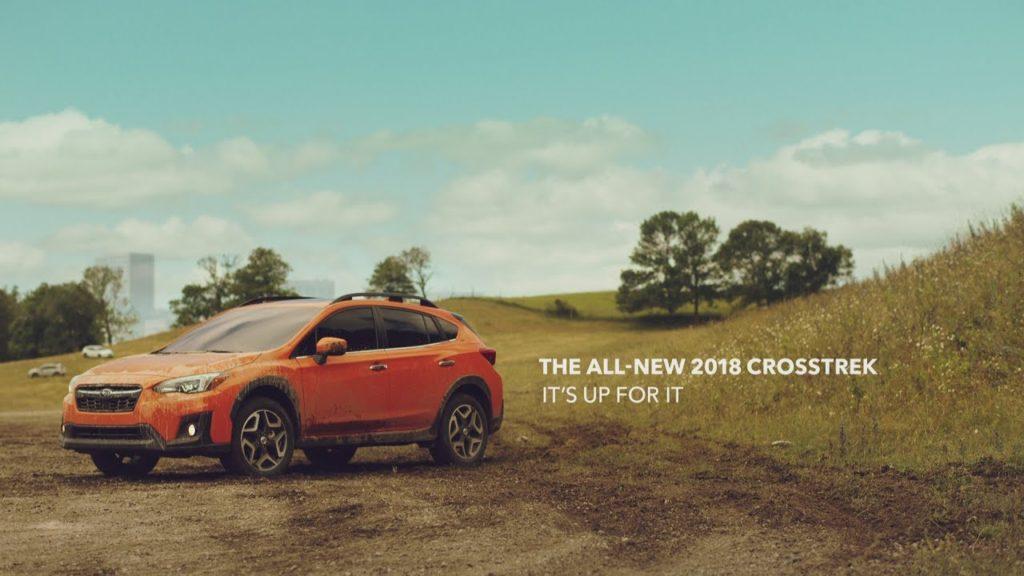 cross trek commercial