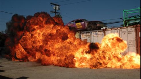 Fire popper test