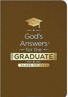 God's Answers for the Graduate Book - can add imprint on cover