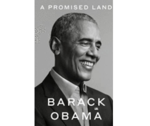 Cover of Barack Obama book a promised land