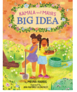 kamala harris children's book cover a big idea