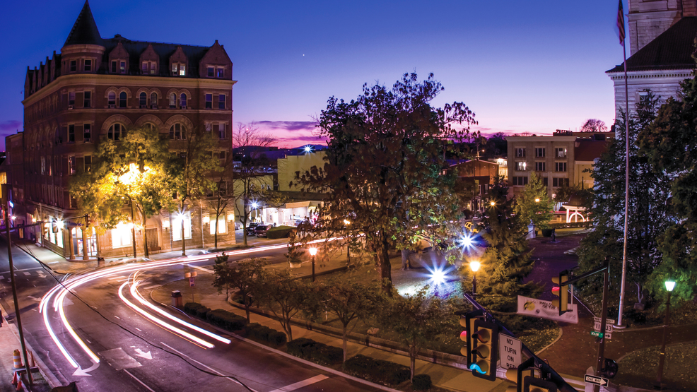 Downtown Harrisonburg Virginia