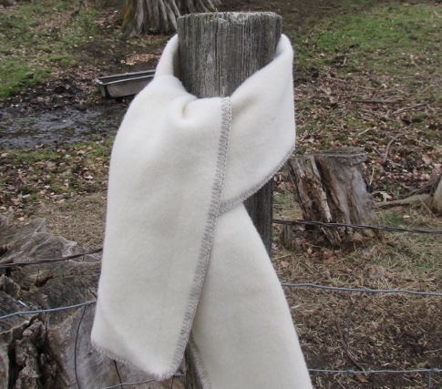 Brushed Wool Scarf 1
