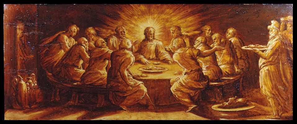 The Last Supper, Giorgio Vasari II (Italian, 1511-1574), Walters Museum