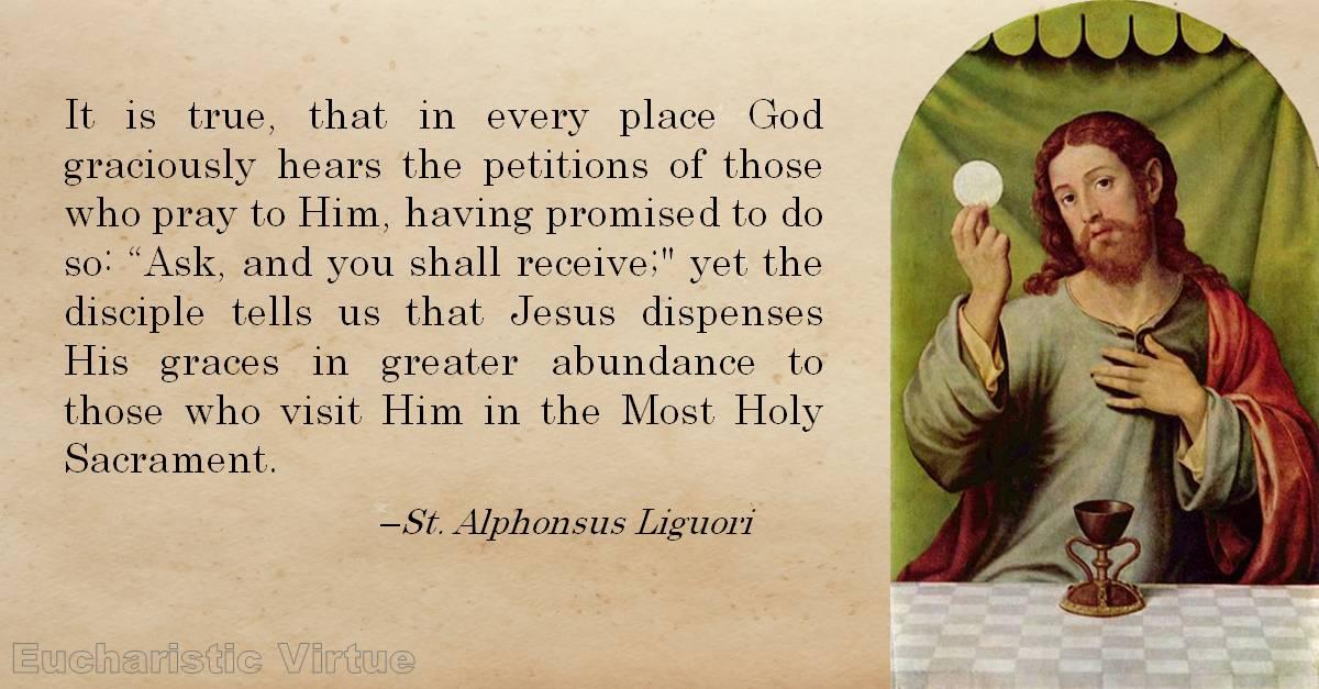 Eucharist Quote