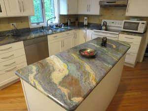 Blue Louise Granite Kitchen Counter Tops