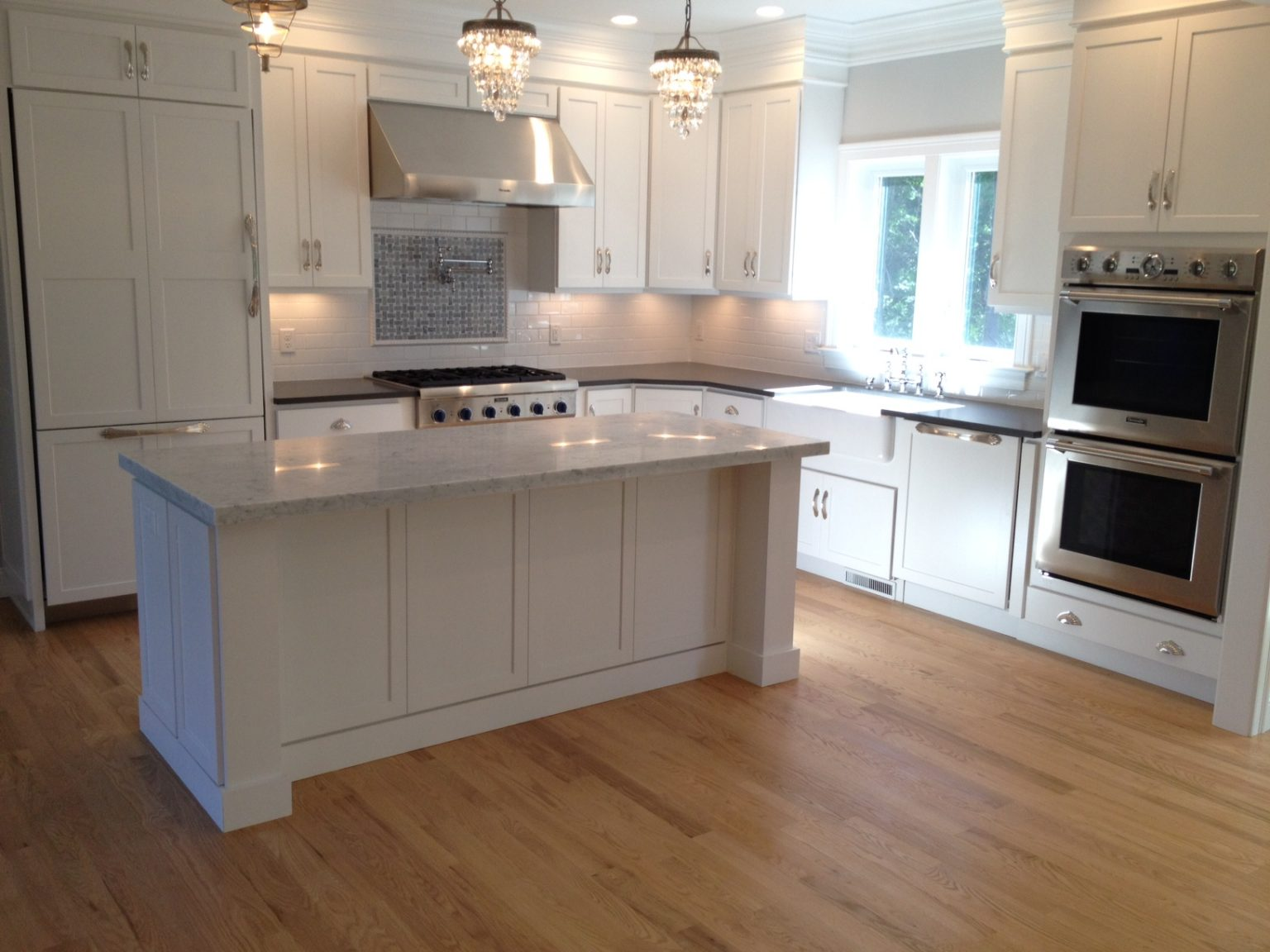 Marble Kitchen Countertops done by Salem Stone Design