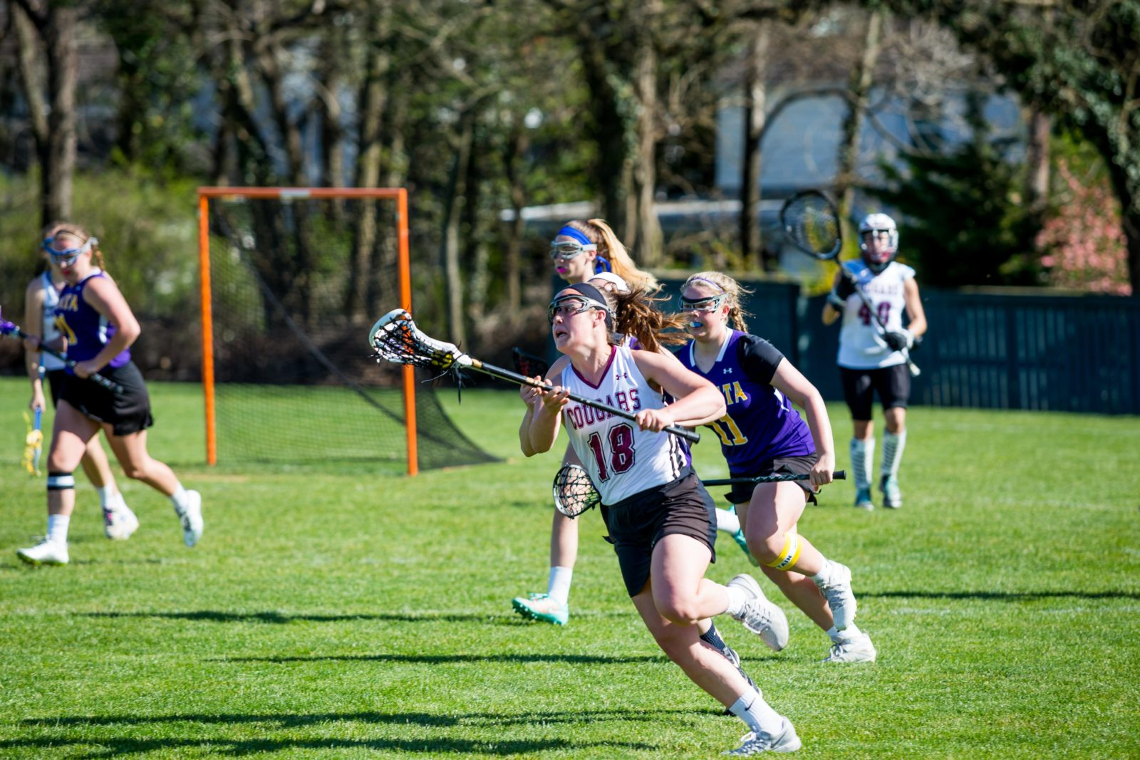 Girls LAX: Playing against Ephrata, the girls LAX team won - 17-3. The team was then 7-1 in the league and 10-3 overall.