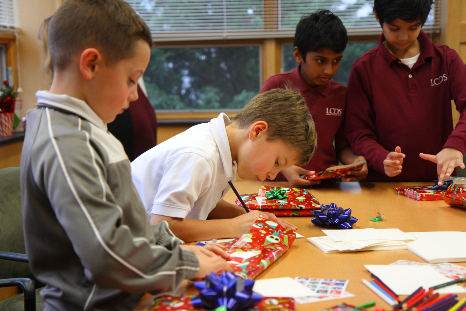 Third Grade Wrapping