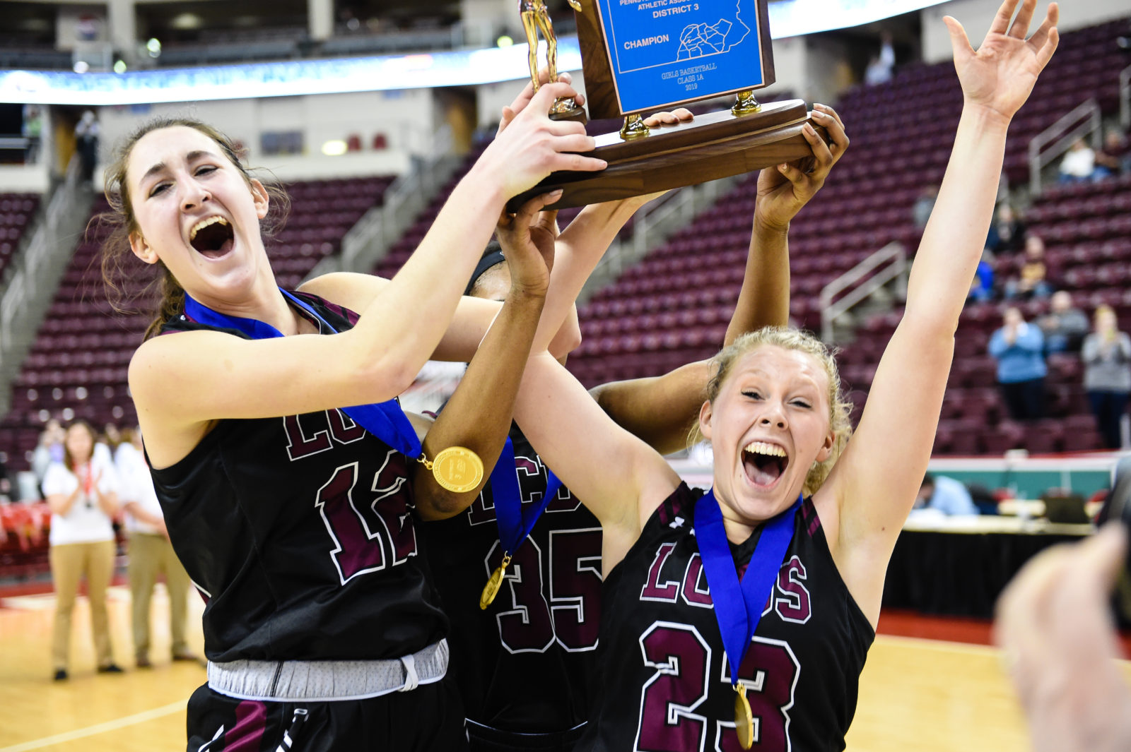 2018-19 District 3 Girls' Championship, McDevitt vs. Lancaster Catholic