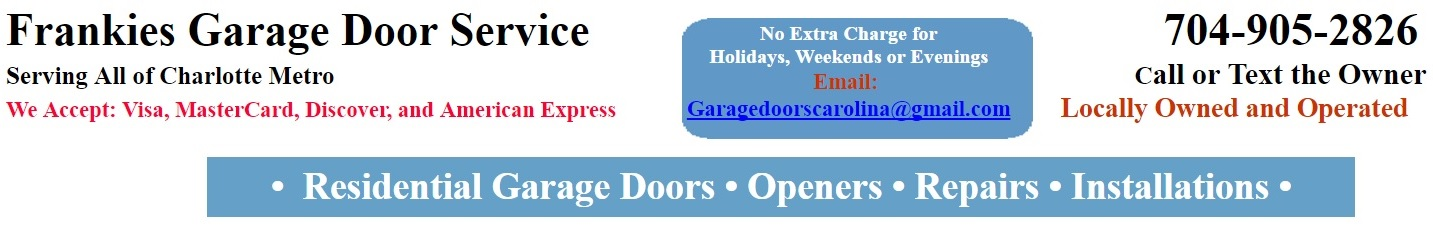 Frankies Overhead Garage Door Service