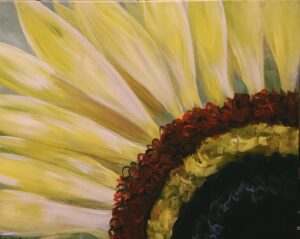 Sunflower @ Tipsy Brush
