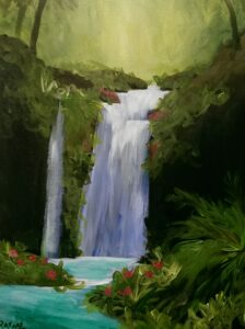 Waterfall Paradise @ Tipsy Brush