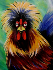 Crazy Rooster @ Tipsy Brush
