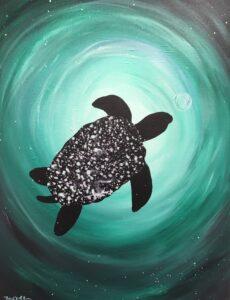 Sea Turtle @ Tipsy Brush