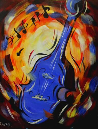 Jazzy Blue Bass