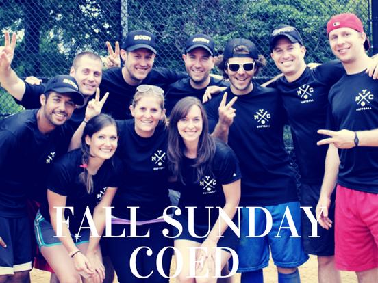 Fall – Sunday Coed League