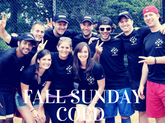 Fall – Sunday Coed League