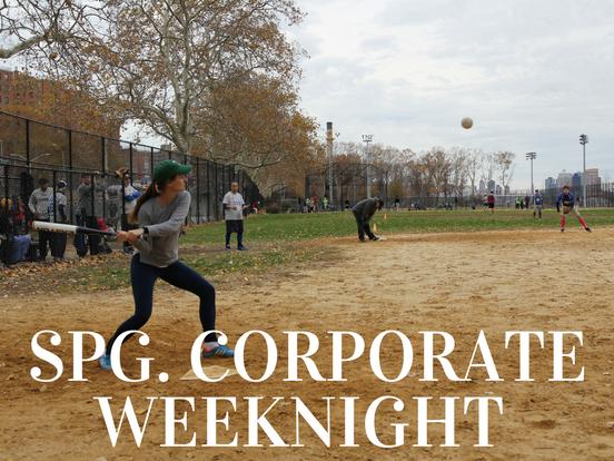 Spring – Corporate Weeknight League