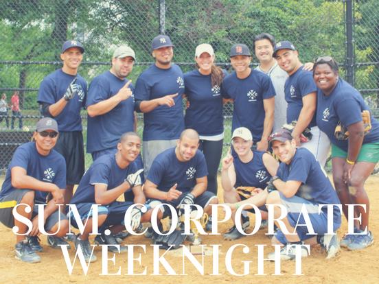 Summer – Weeknight Corporate Coed League