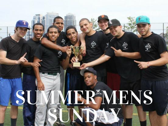 Summer – Sunday Men's – Manhattan