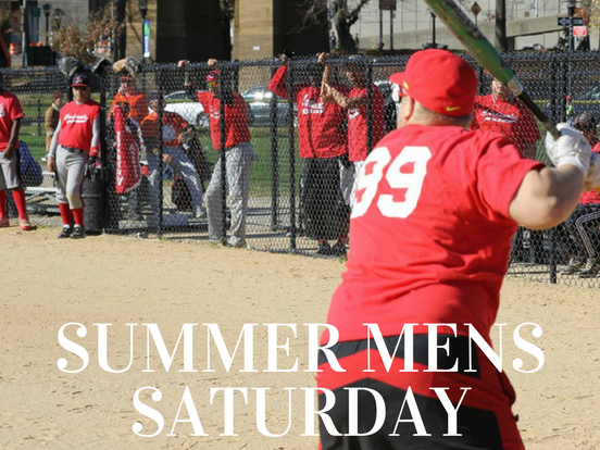 Summer – Saturday Men's League