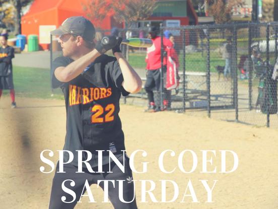 Spring – Saturday Coed League