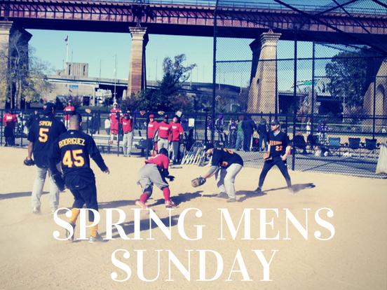 Spring – Sunday Men's League