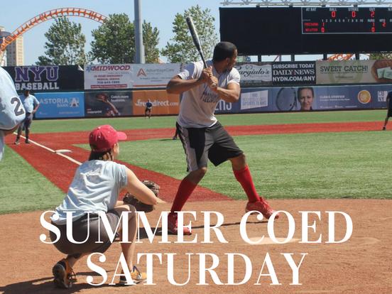 Summer – Saturday Coed League