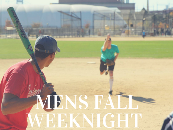 Fall – Weeknight Men's League